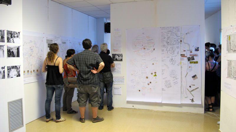 PRESENTACIÓN DE PROYECTOS. TALLER: Mapeo colectivo y políticas del espacio. Iconoclasistas