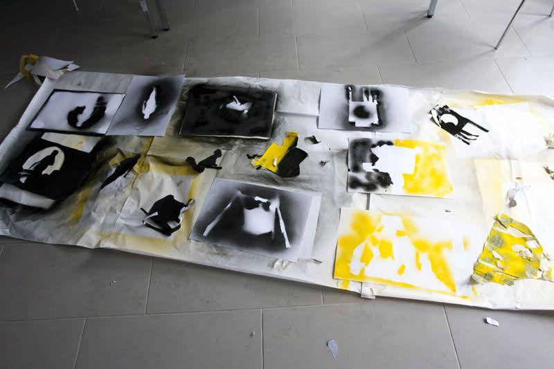 QUAM2011. TALLER DES DEL CARRER. EXPERIMENTEM I PROJECTEM. ©FERRAN CASTRILLO