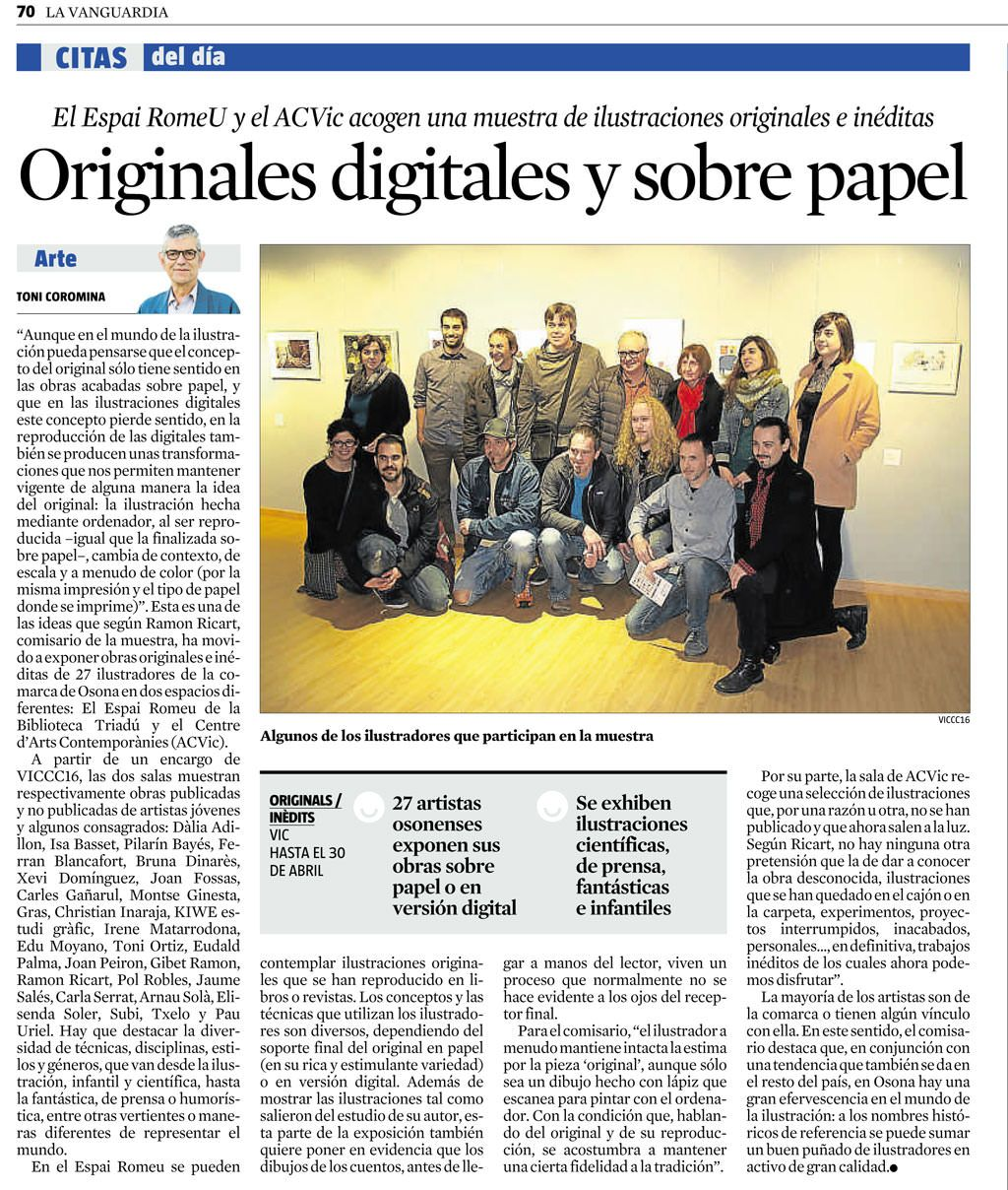 17.04.2016 lavanguardia cast