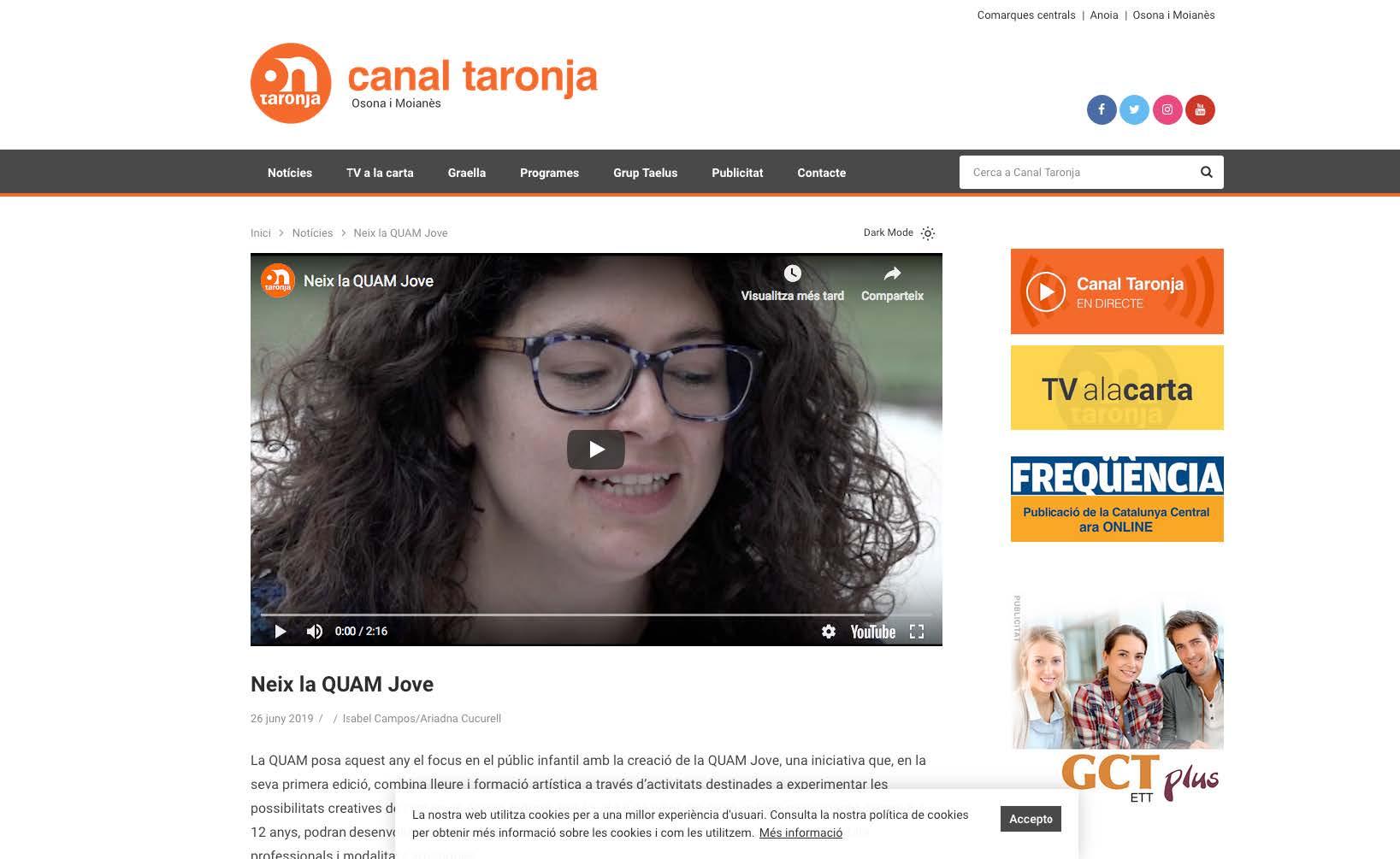 20.06.2019 canal taronja