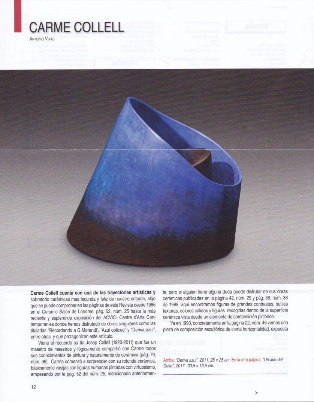 revista ceramica carme collell