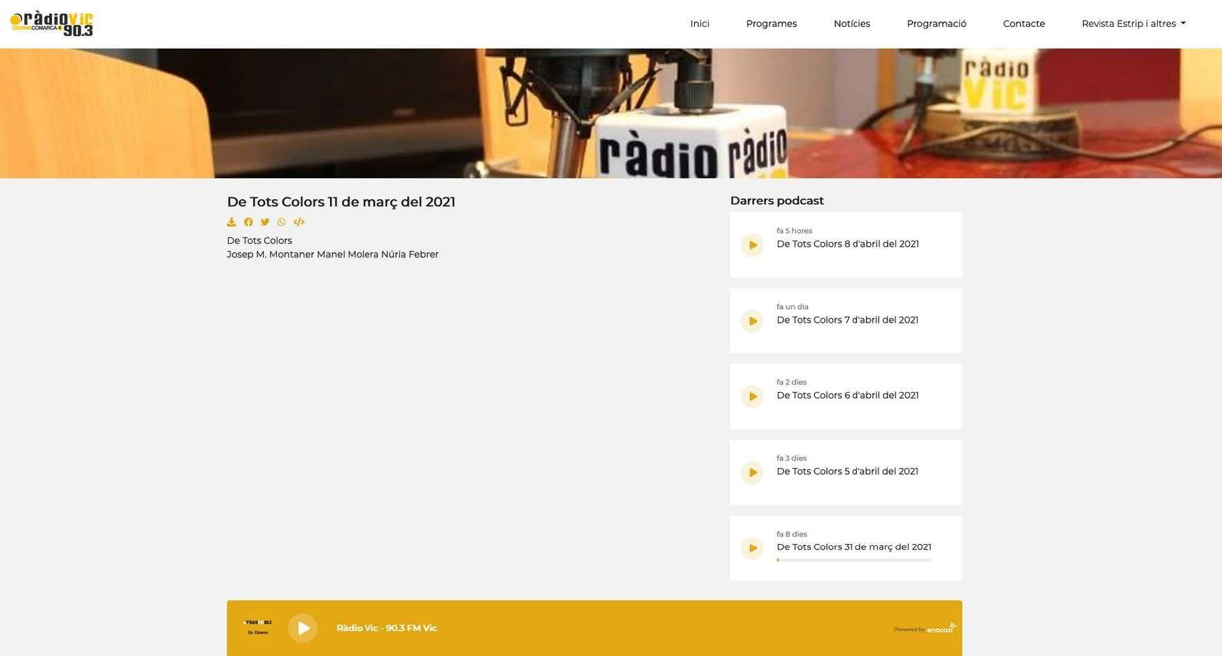11.03.2021 radiovic